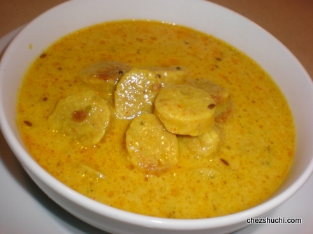 Gatte Ki Subji/ Gatta Curry